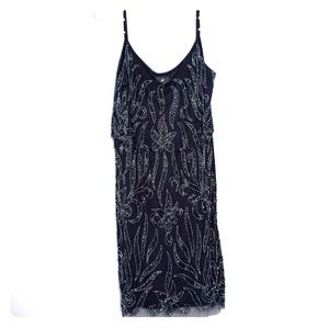NWT Adrianna Papell Beaded Dress